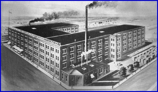 Weaver Organ & Piano Co. Factory shown in 1946 Ad (Source: Page 208 of The Story of a Dynamic Community, York, PA by York Chamber of Commerce, 1946, S.H. Smith Collection)