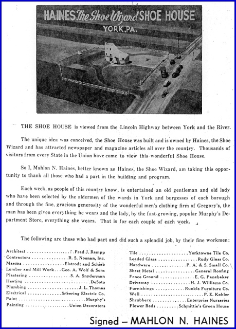 Mahlon N. Haines ad in the July 22nd 1949 issue of The York Dispatch