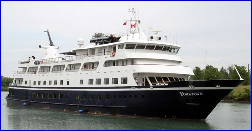 M/V Yorktown on the Welland Canal, just west of Niagara Falls in Canada