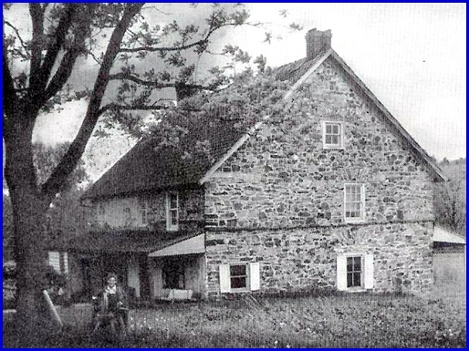 Old Picture of the Schultz House in Springettsbury Township (From Historic York web site)
