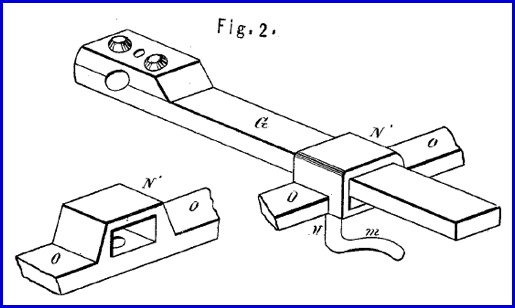 Figure 2 Drawing of U. S. Patent No. 126,317; by Andrew McGinnes and Brinton J. Carter (United States Patent and Trademark Office)
