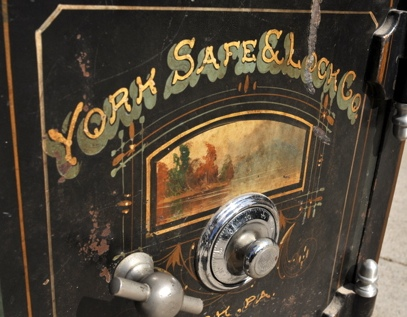 An Early Office Safe Manufactured by the York Safe & Lock Company, York, Pennsylvania