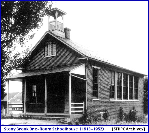 Stony Brook One-Room Schoolhouse (From Springettsbury Township Historic Preservation Committee [STHPC] Archives)
