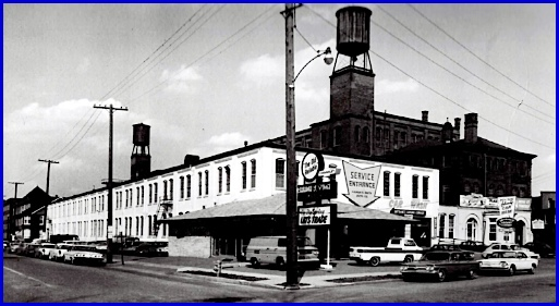 Ammon R. Smith Auto Company, Carlisle and Linden Avenues, Chevrolet Dealer in York, PA (Photo posted on a Corvette Forum)