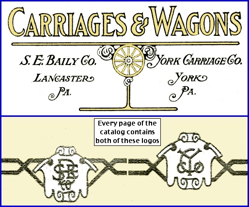 Carriages & Wagons Catalog (From the collections of the York County Heritage Trust, Arrangement by S. H. Smith, 2015)