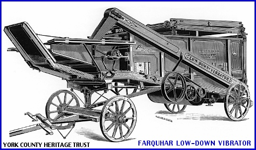 Farquhar Low-Down Vibrator in 1893 A. B. Farquhar Catalog (Collections of York County Heritage Trust)