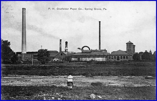 Postcard of the P. H. Galtfelter Company (Published by M. W. Lau of Spring Grove and Made in Germany; postmarked Feb. 26, 1910, from Collections of S. H. Smith)