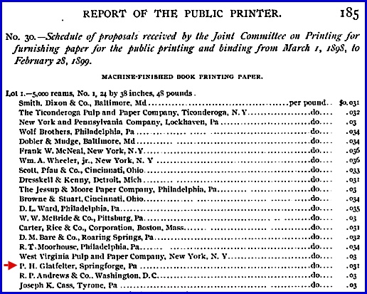 Report of the Public Printer, Government Printing Office, Washington, D.C., 1899