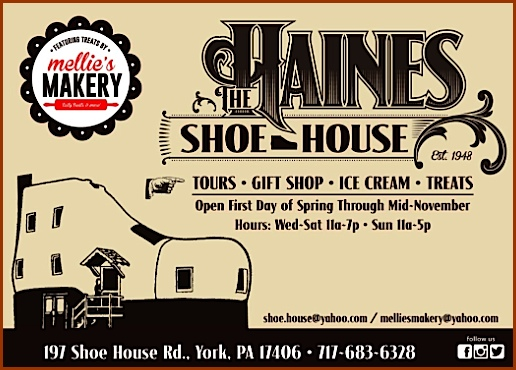 The Haines Shoe House Postcard; 2015 Edition