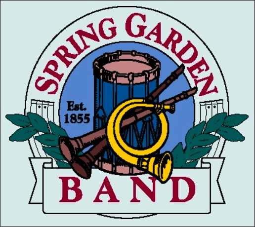 Crest of the Spring Garden Band (From Spring Garden Band web site http://www.springgardenband.org)