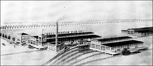 """First Buildings of Our New Plant"" illustration in 1917 Catalog of The Bell Motor Car Company of York, Pennsylvania (Collections of S. H. Smith)"