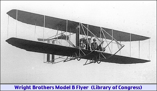Wright Brothers Model B Flyer (Library of Congress, Prints and Photographs Division)