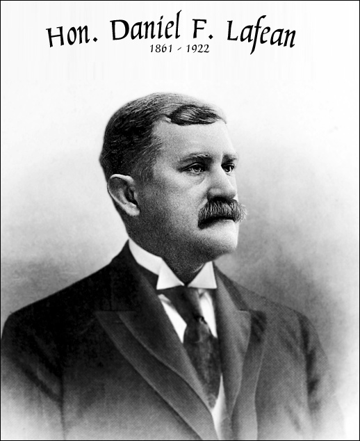 Hon. Daniel F. Lafean (George Prowell's 1907 History of York County, PA; Volume 2, opposite page 32)