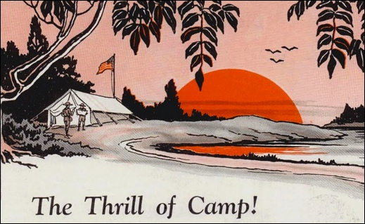 Illustration in the May 1926 Issue of Boys' Life, published by the Boy Scouts of America