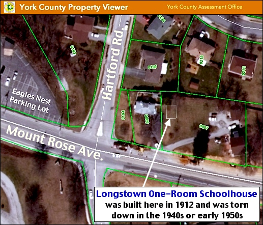 York County Property Viewer (York County Assessment Office, Annotated by S. H. Smith, 2016)