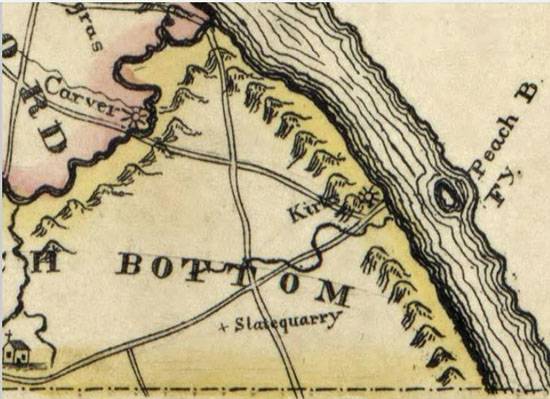1821 Small & Wagner map (Library of Congress)