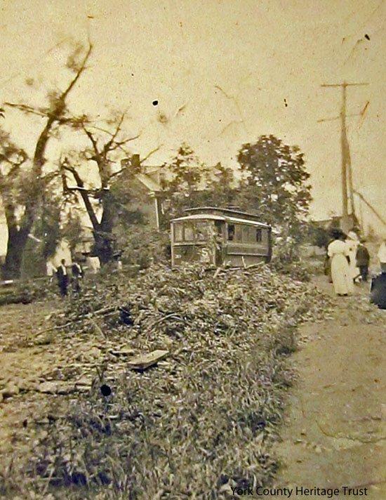 More On The Devastating 1915 Hanover Pa Tornado Universal York