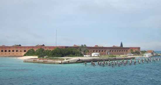 Fort Jefferson today