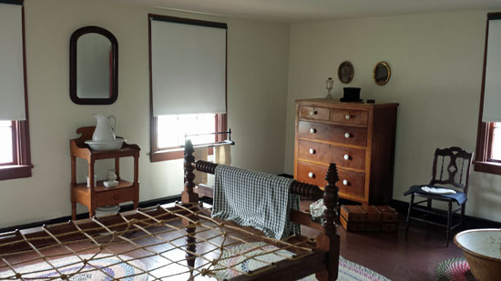 Surratt House travelers' bedroom