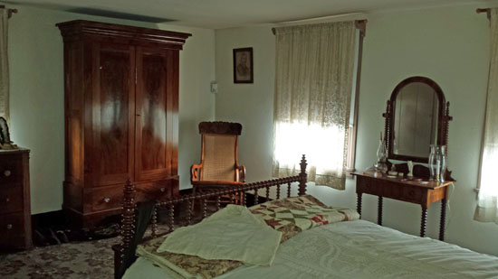 Surratt family bedroom