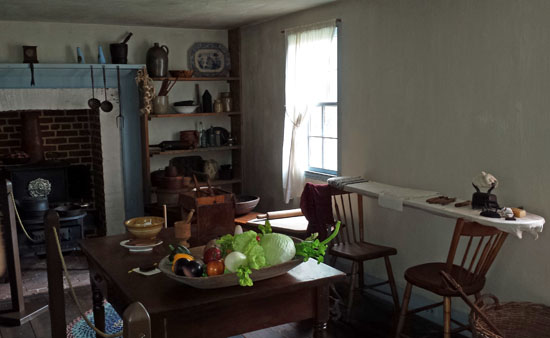 Surratt House kitchen