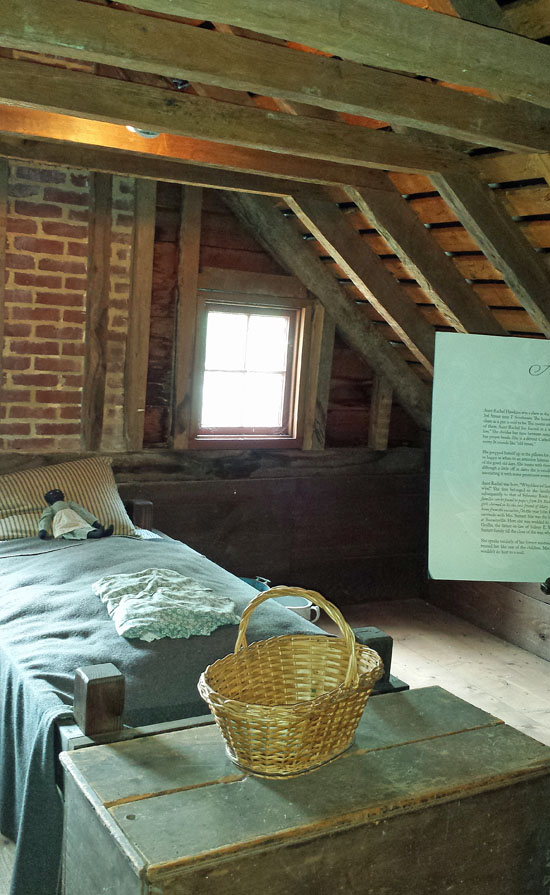 Surratt servants' room (probably enslaved)