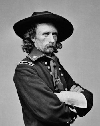 Brig. Gen. George Armstrong Custer, USA (Library of Congress)