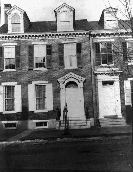 Goodridge house at 123 E. Philadelphia Street in the mid-20th century (Library of Congress)
