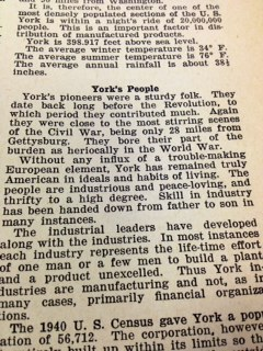 York's people in 1943