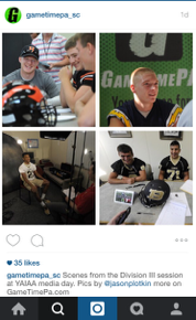 During YAIAA media day, we provided some updates on our Instagram account.