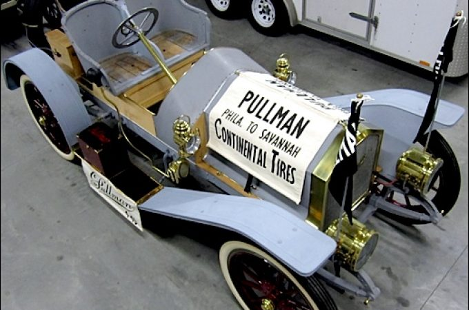 Restoring a 1909 Pullman Model 4-40 Roadster