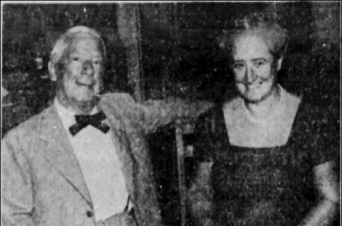 Mahlon N. Haines, Grace Haines
