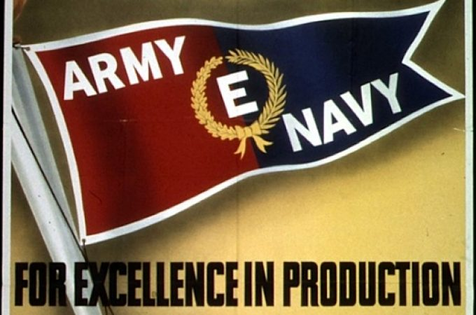 "Mystery York plant granted WWII Army-Navy ""E"" Award"