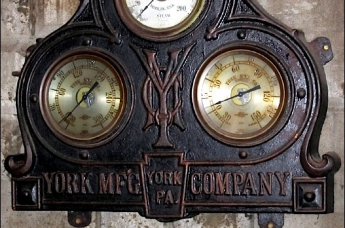 Bube's Brewery purchased 1893 Ice Machine made at YORK's Penn Street factory