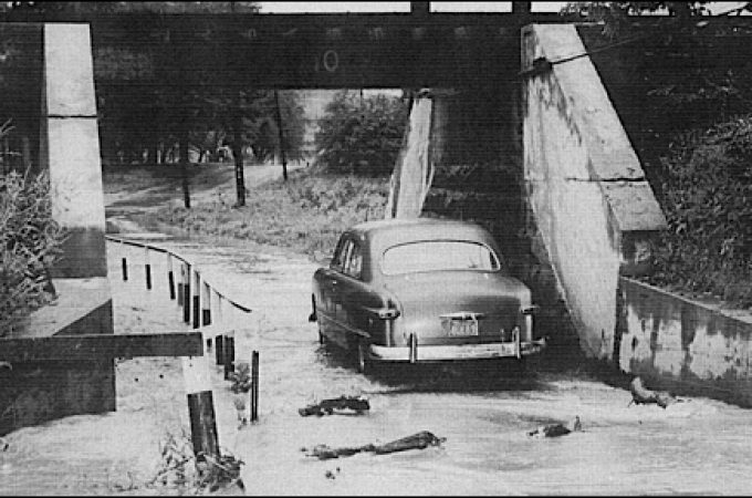 Remembering the North Hills Road underpass