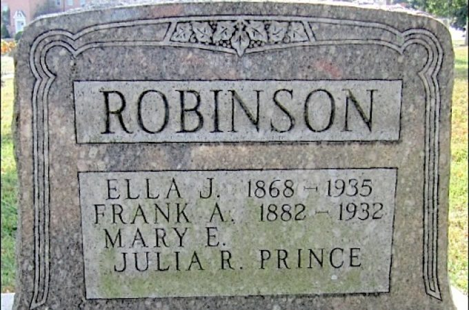 Ella Robinson trailblazer for a family of Teachers