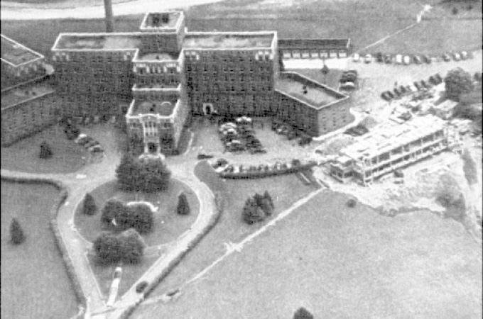 Campbell Isolation Hospital was next to York Hospital