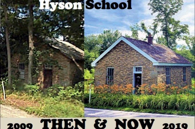 Hyson's One-Room Schoolhouses in East Hopewell