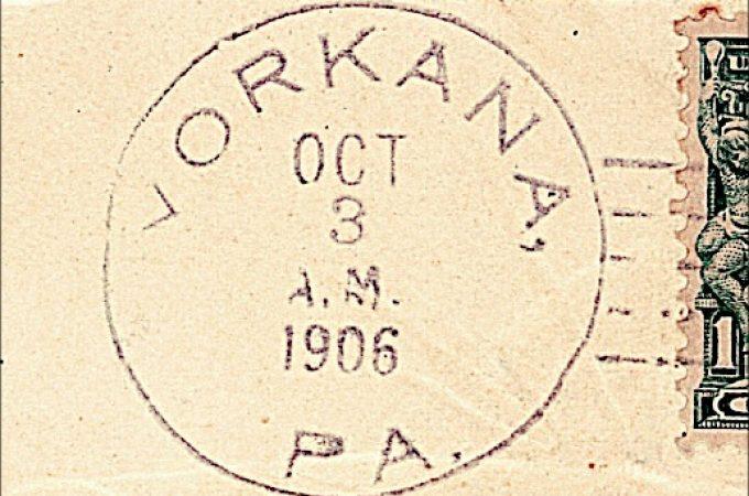 Mary (Dietz) Poff was a Yorkana Postmaster