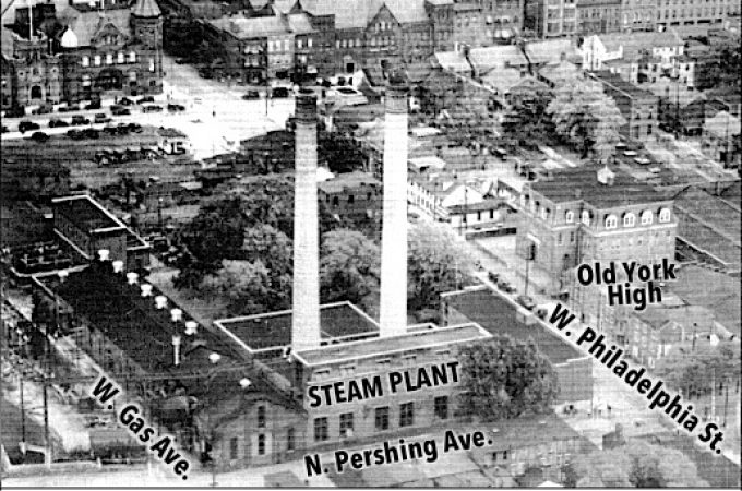 Dismantling the 1910 Steam Plant Smokestack