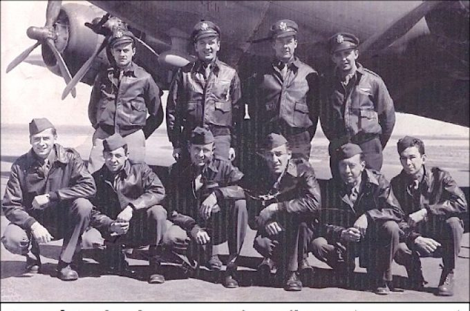 """The B-17 crew of the """"Karen B"""" and the Nazi SS murder of Robert Zercher"""