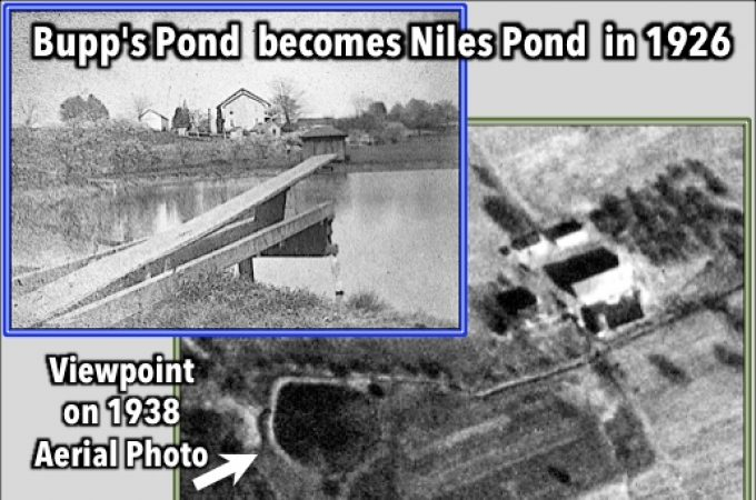 Bupp's Pond becomes Niles Pond in 1926