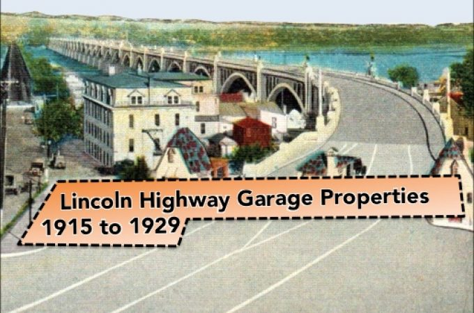 Wrightsville's Lincoln Highway Garage with a Movie Theatre