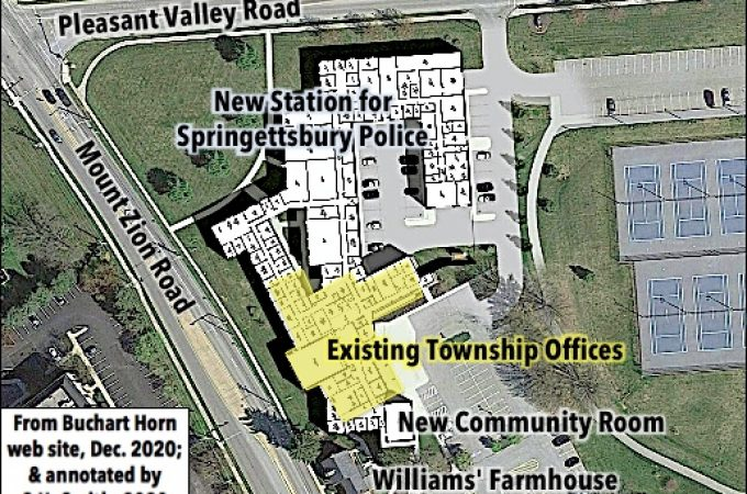 New Police Station in Springettsbury Township municipal building renovations