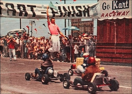 Robust go-kart racing culture of fifty years ago