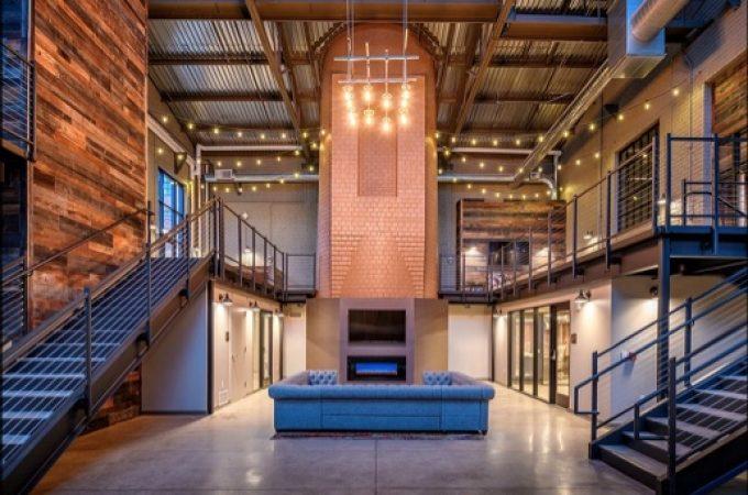 YORK Ice Machinery building repurposed as Hercules Apartments