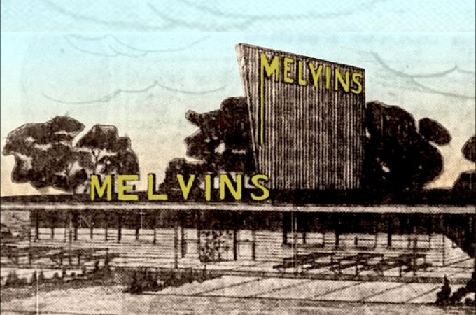 Remember the Record Hops at Melvin's Drive-In on Haines Road
