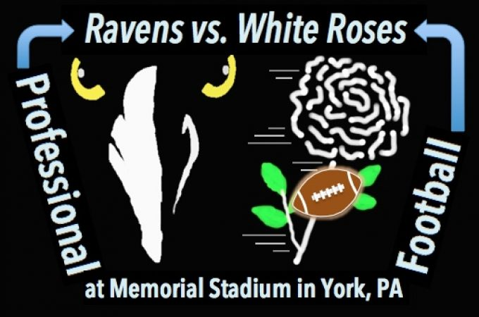 When the York Roses defeated the Ravens in Pro Football