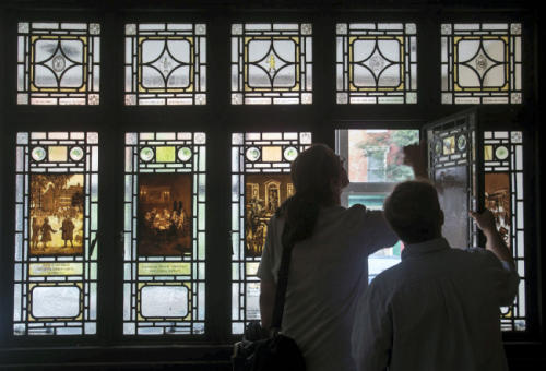 York, Pa., artist J. Horace Rudy rediscovered: His stained glass work in pictures