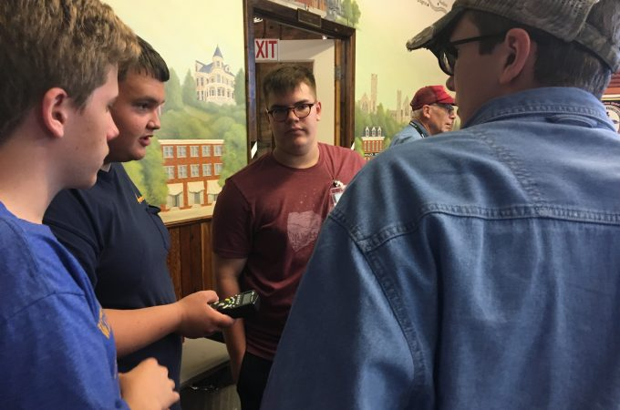 Have a question about York County railroads? These four teens will have the answer